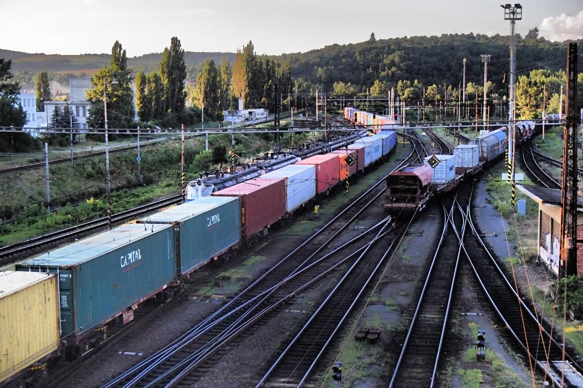 Nákladní doprava na železnici