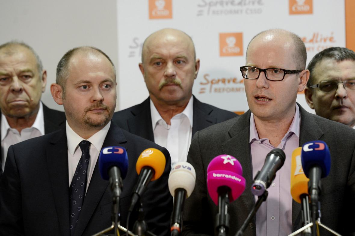 ČSSD představuje volební lídry