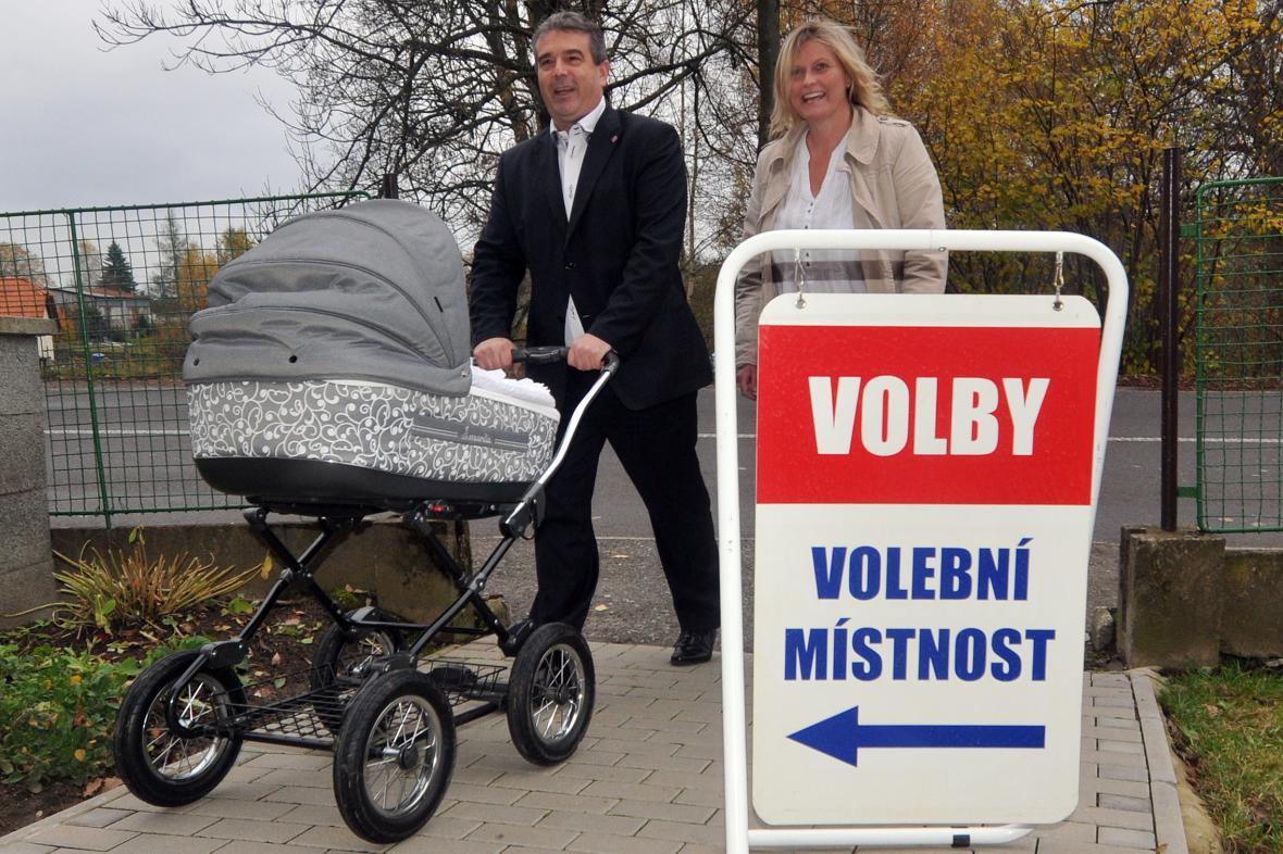 Zdeněk Štengl u voleb