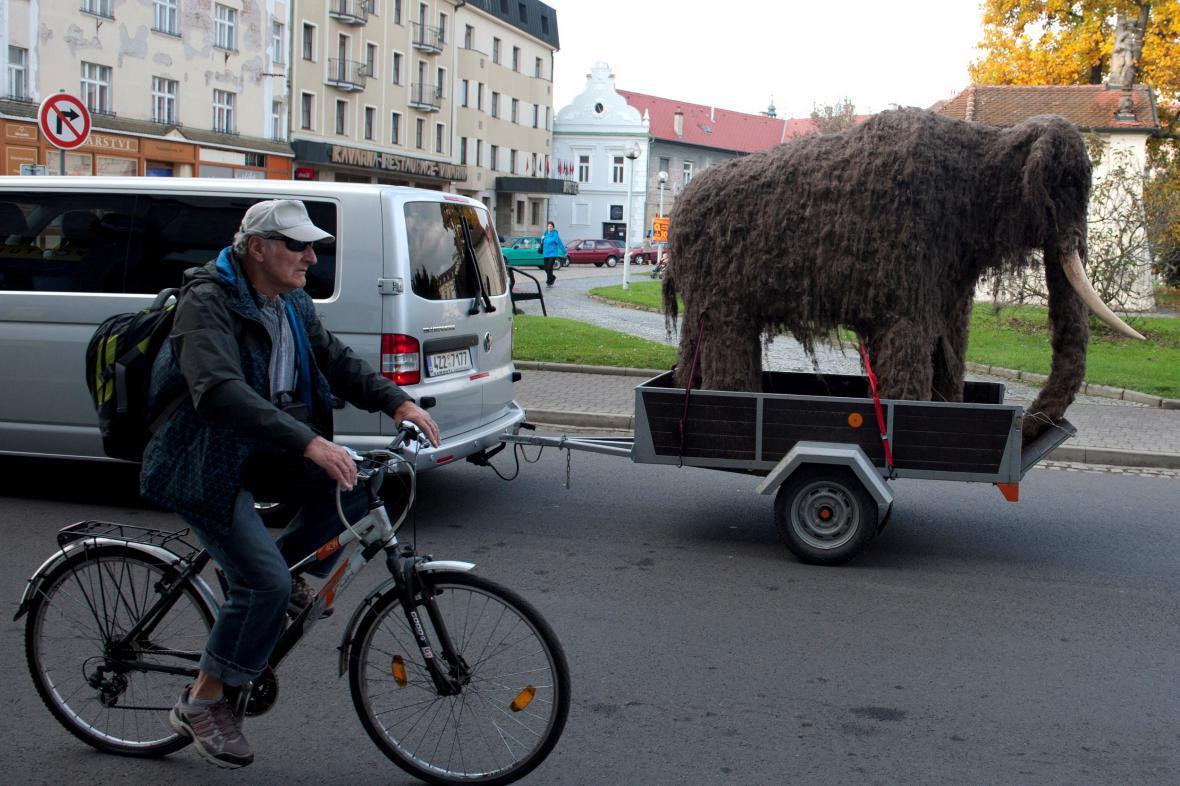 Mamutě jede do muzea