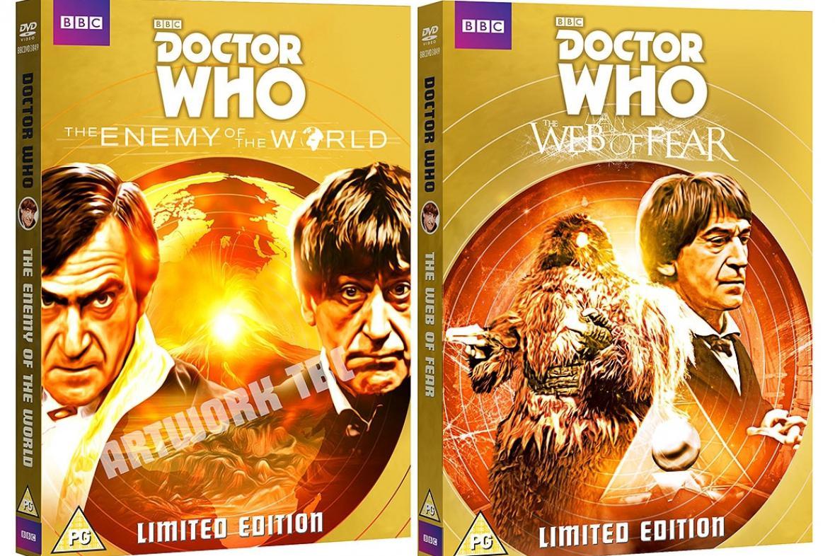 Doctor Who: Nepřítel světa a Pavučina strachu na DVD