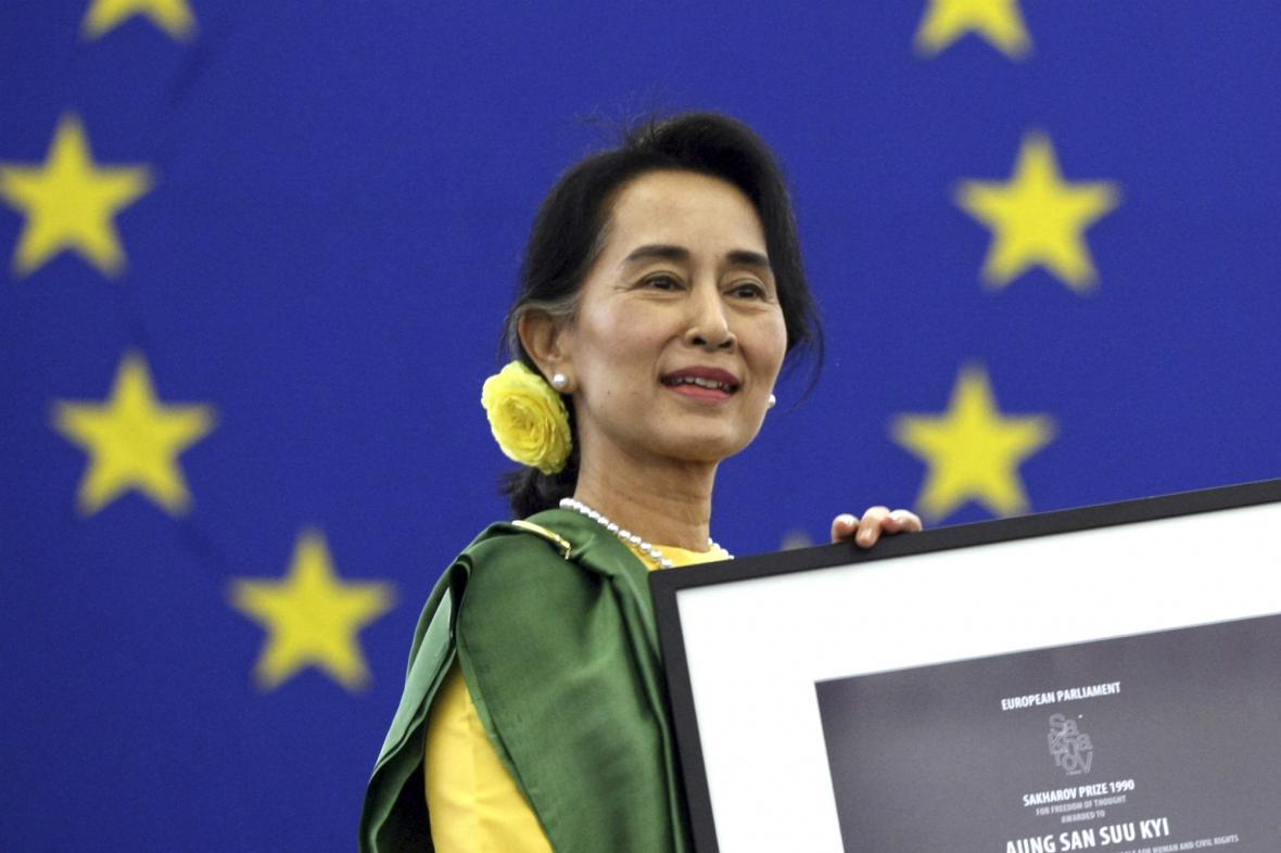 Su Ťij si po 23 letech přišla pro Sacharovovu cenu