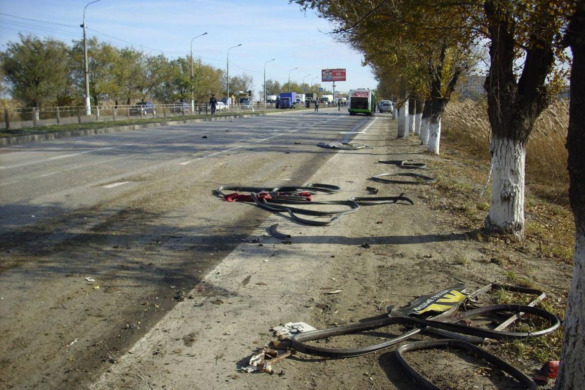 Bombový atentát ve Volgogradu