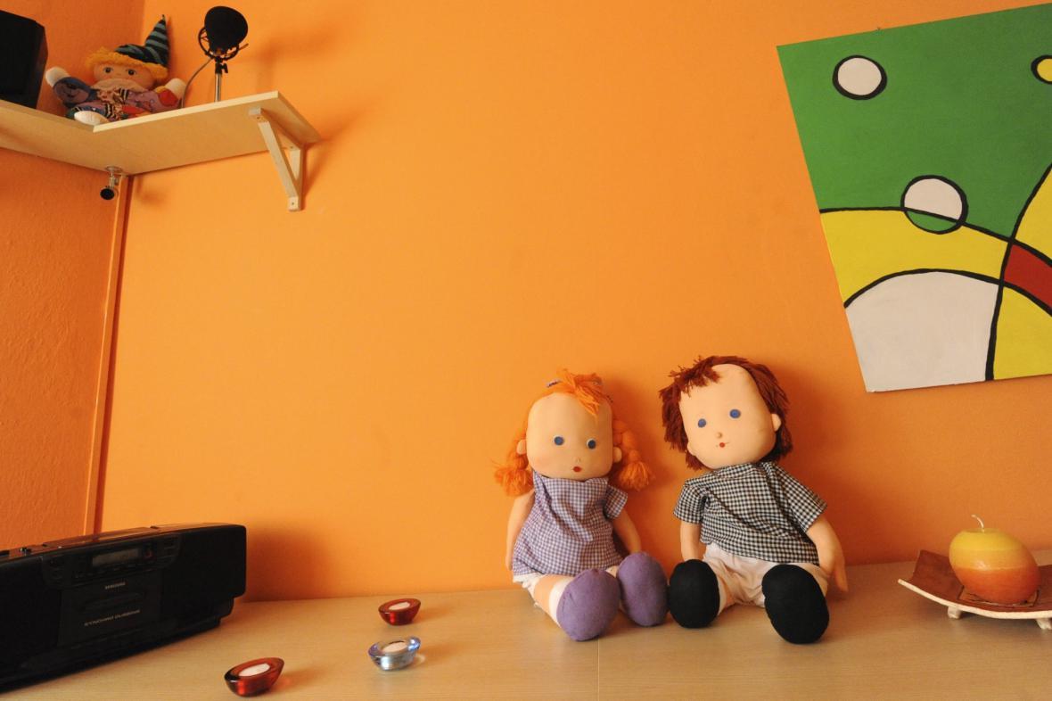 Výslechová místnost pro děti - ilustrační foto