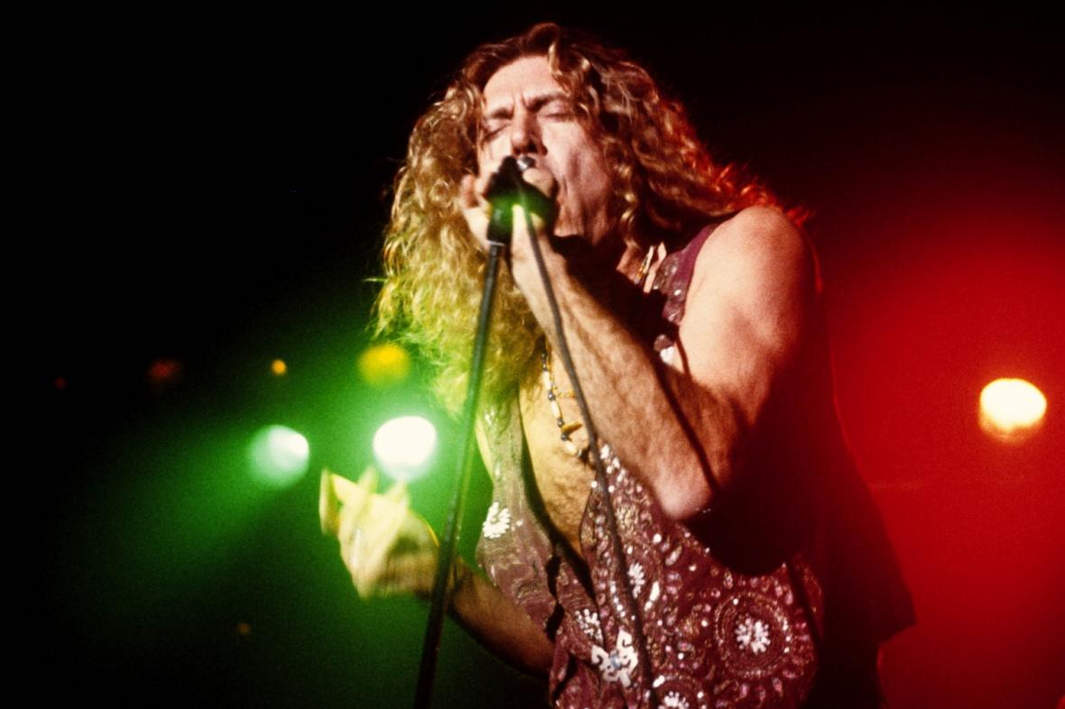 Led Zeppelin / na snímku Robert Plant