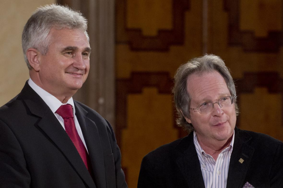 Milan Štěch a Michael March