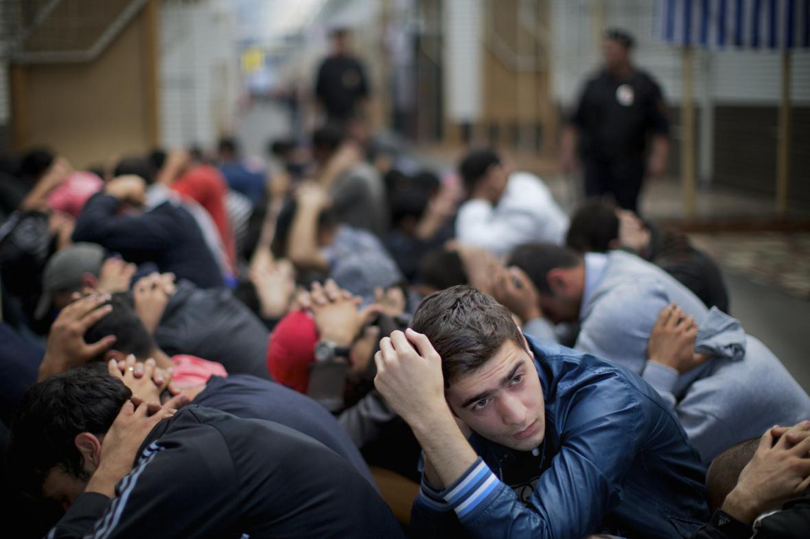 Zátah moskevské policie proti imigrantům