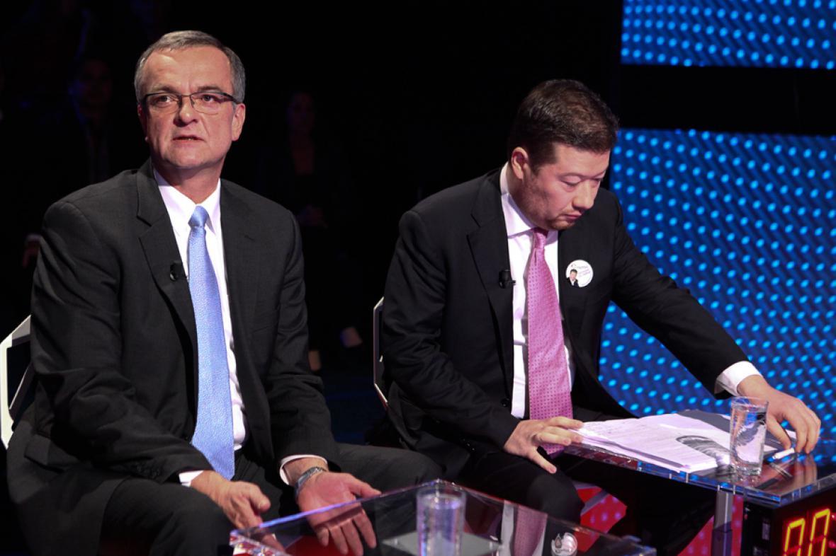 Předvolební debata s lídry Středočeského kraje