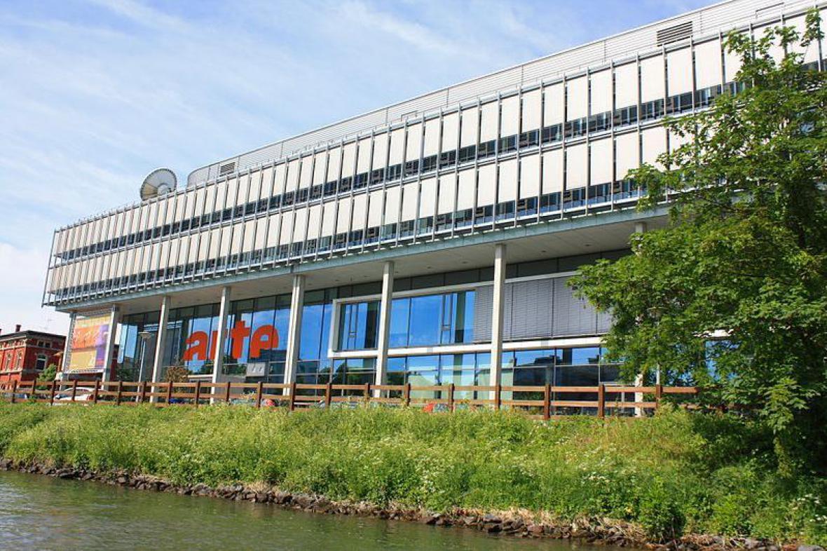Budova televizní stanice ARTE