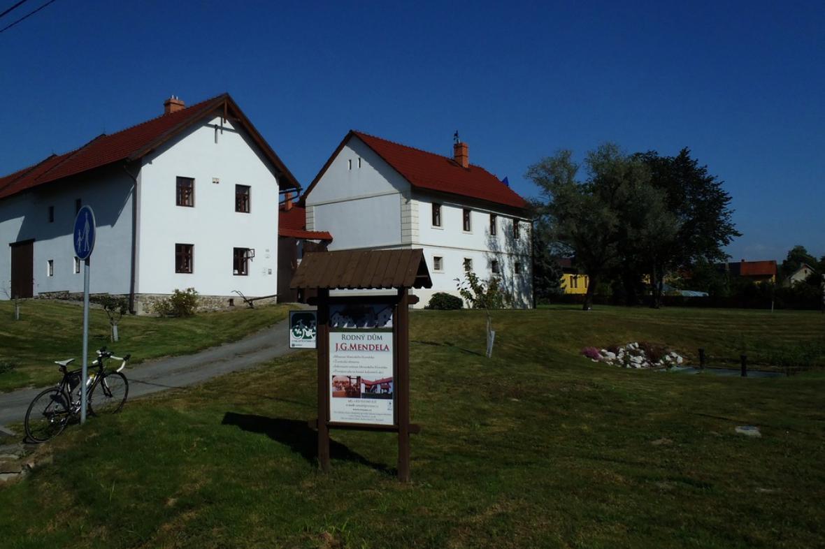 Rodný dům J. G. Mendela