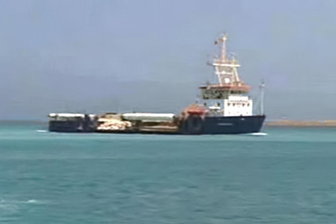 Belgická bagrovací loď Pompei
