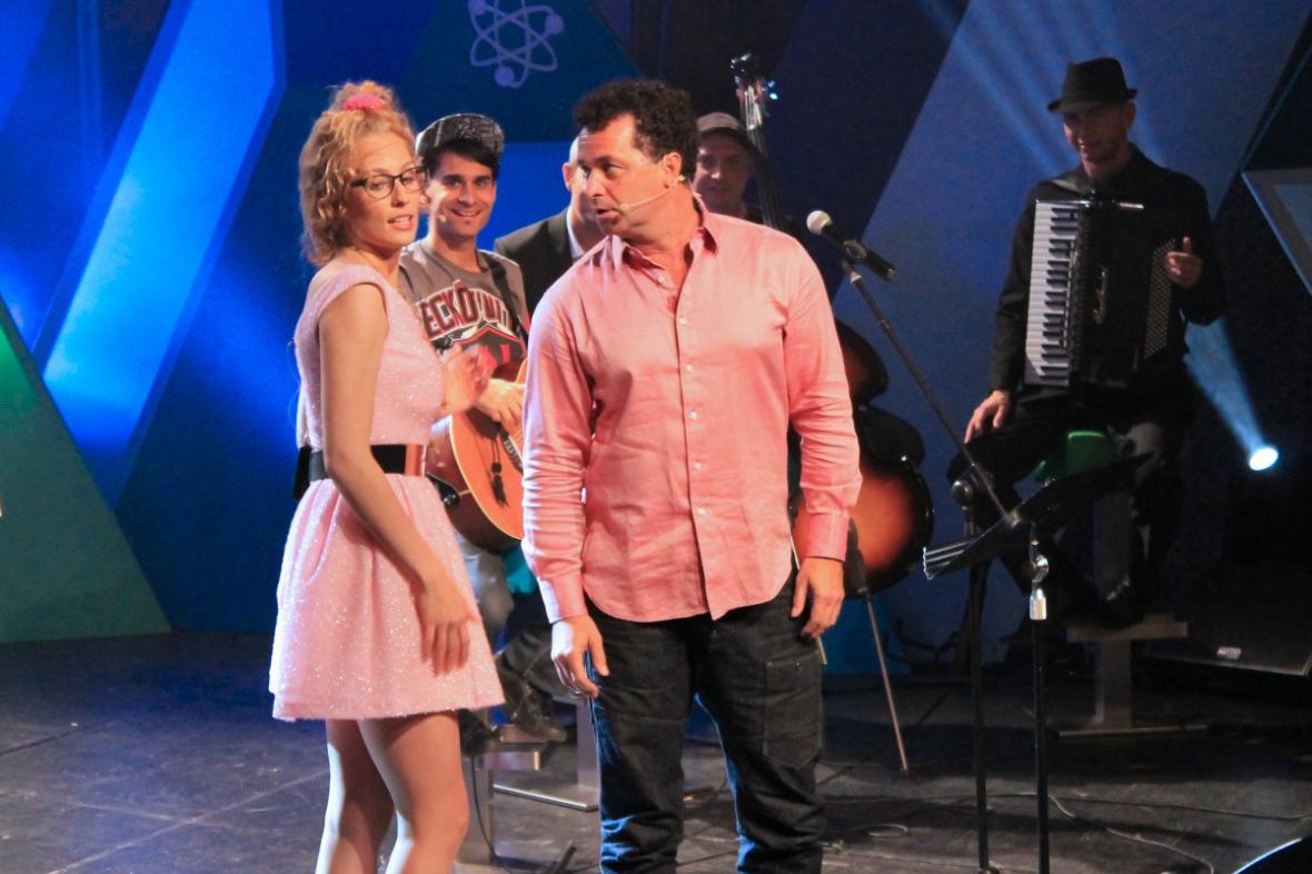 Sára Milfajtová a Martin Dejdar