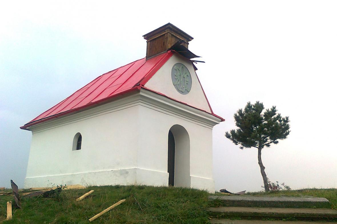 Kaple na vrchu Santon