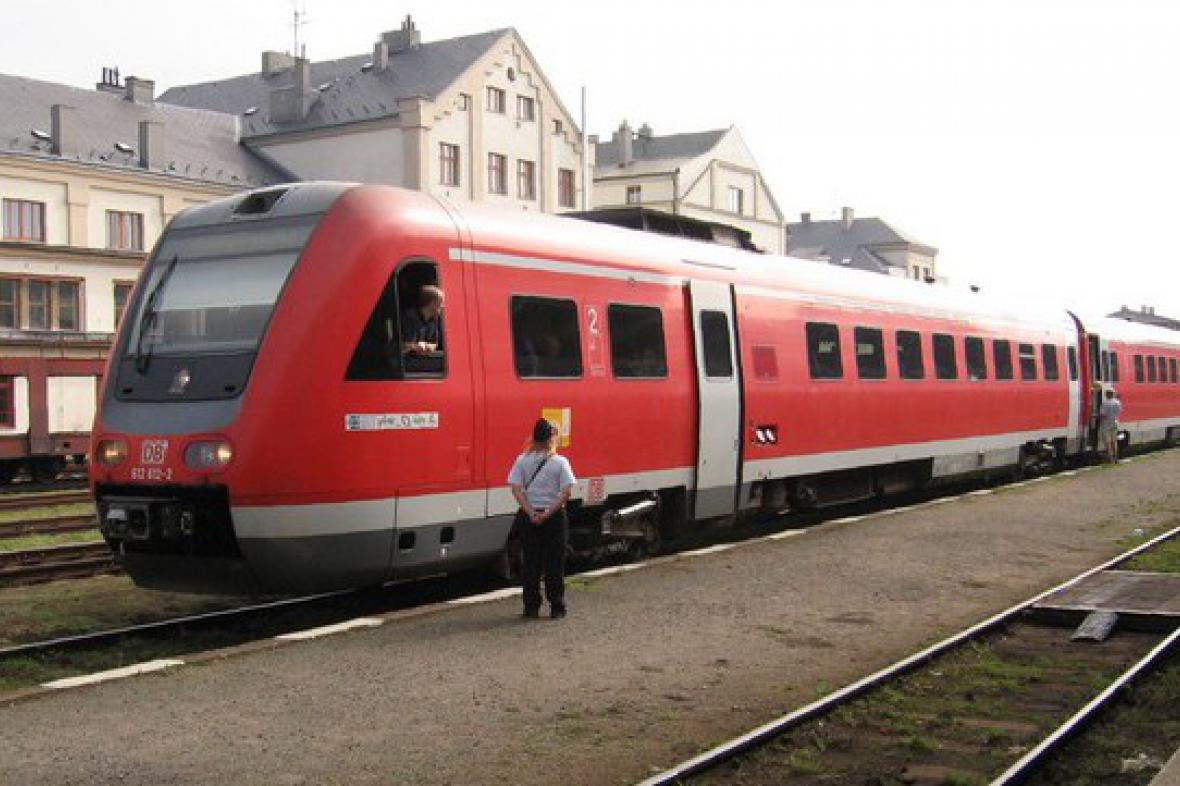 Německý regionální vlak