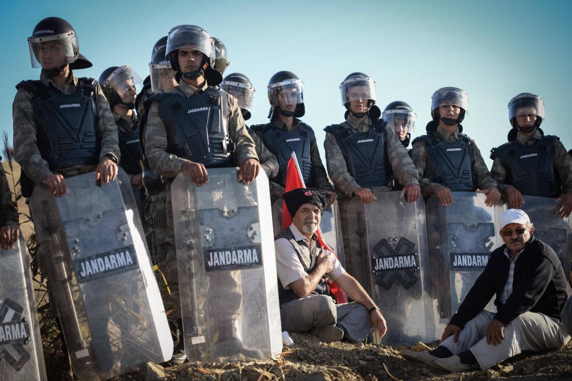 Bezpečnostní opatření u věznice Silivri