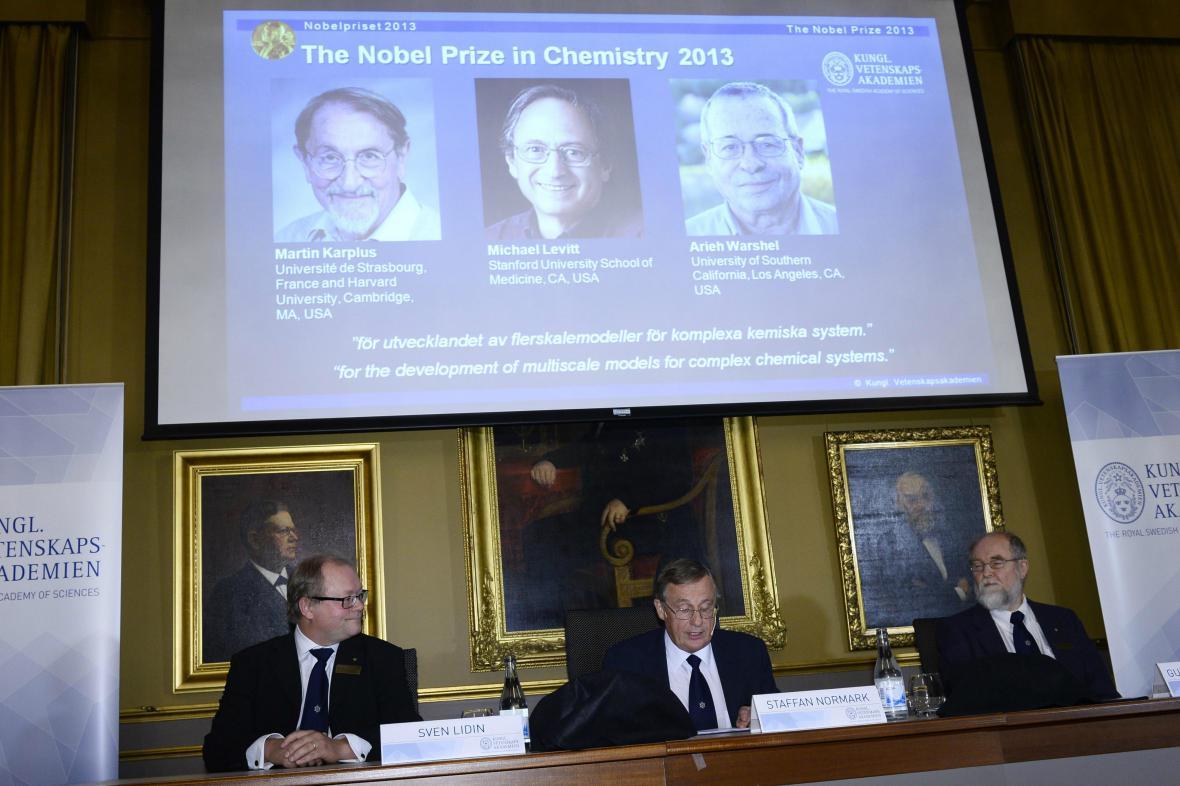 Vyhlášení Nobelovy ceny za chemii