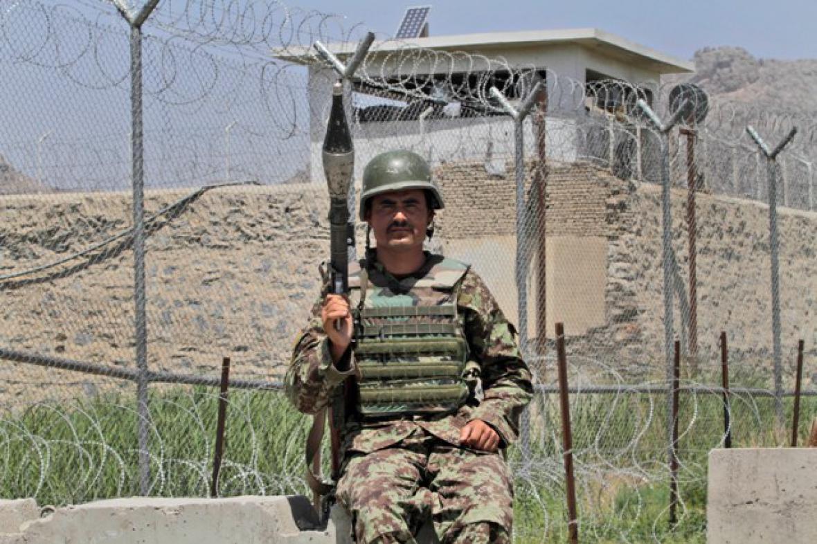 Ostraha věznice v Kandaháru