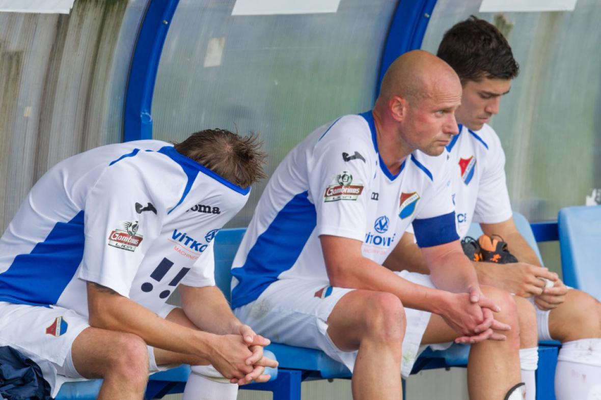 Zklamaní fotbalisté Baníku