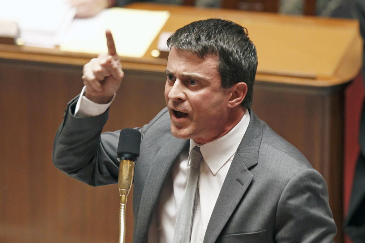 Francouzský ministr vnitra Manuel Valls