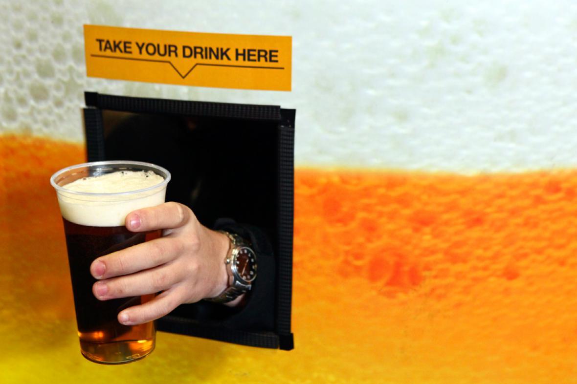 BeerBox - automat na pivo