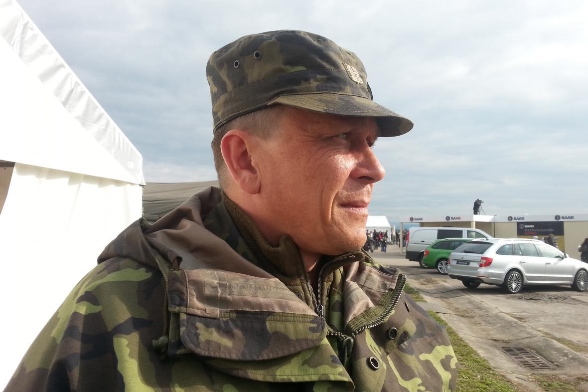 pplk. Petr Šimek, zástupce náčelníka štábu pro podporu, 7. mechanizovaná brigáda v Hranicích