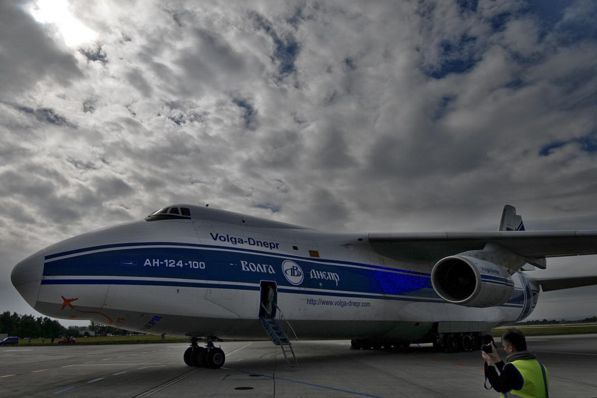 Antonov An-124-100 Ruslan v Ostravě