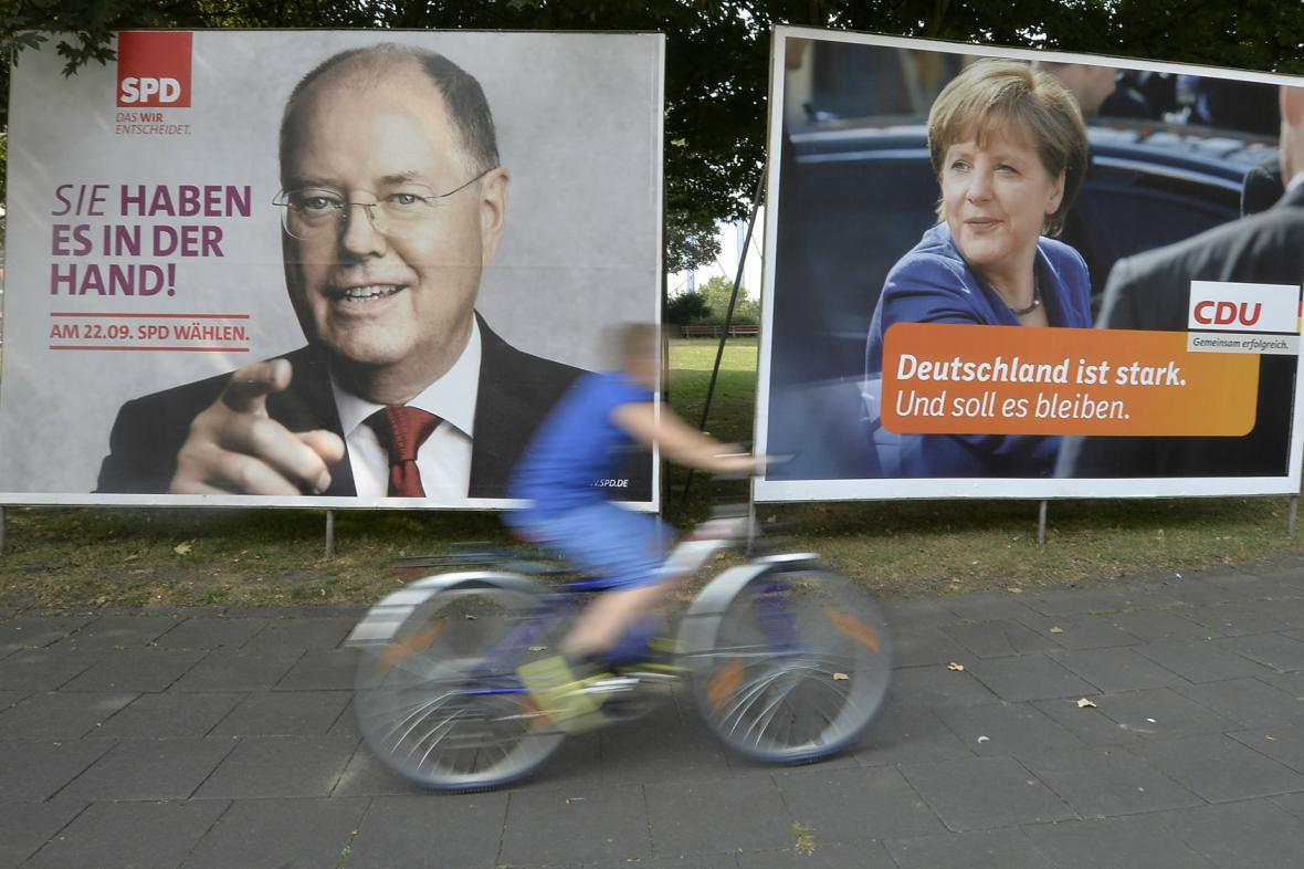 Předvolební kampaň v Německu