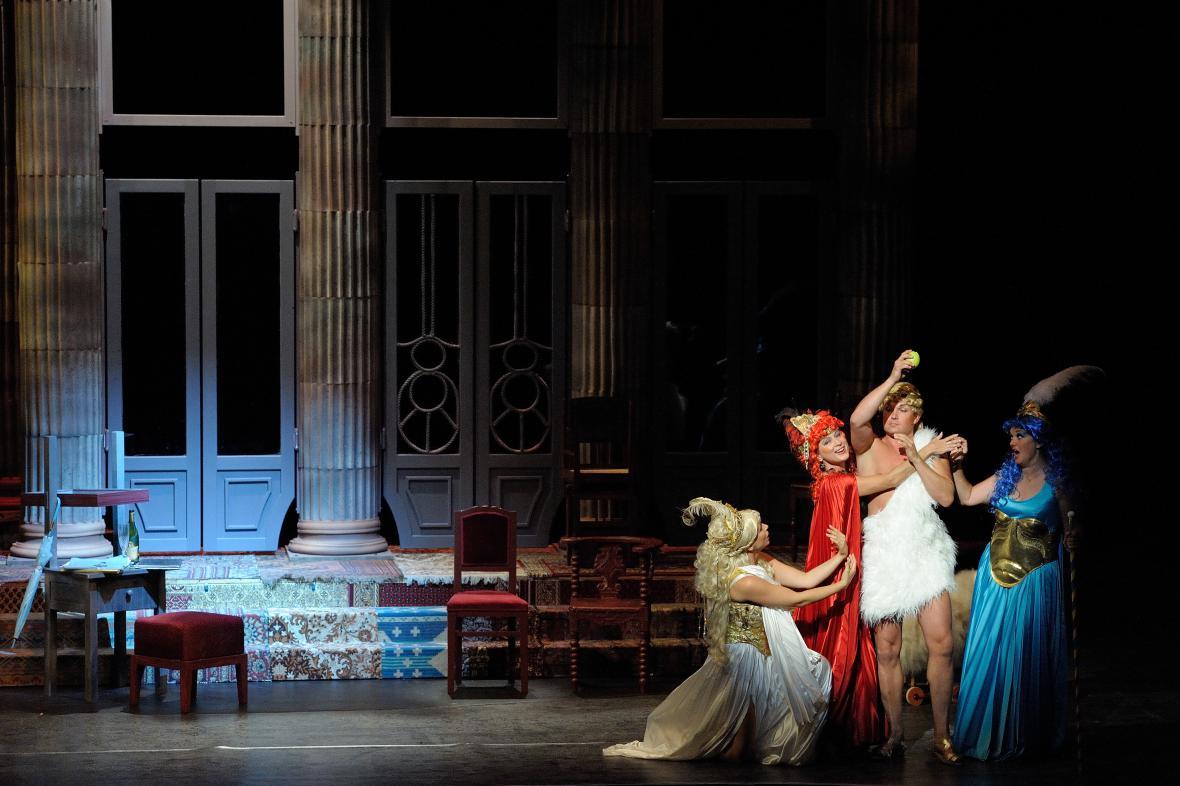 Opereta Krásná Helena v NDM