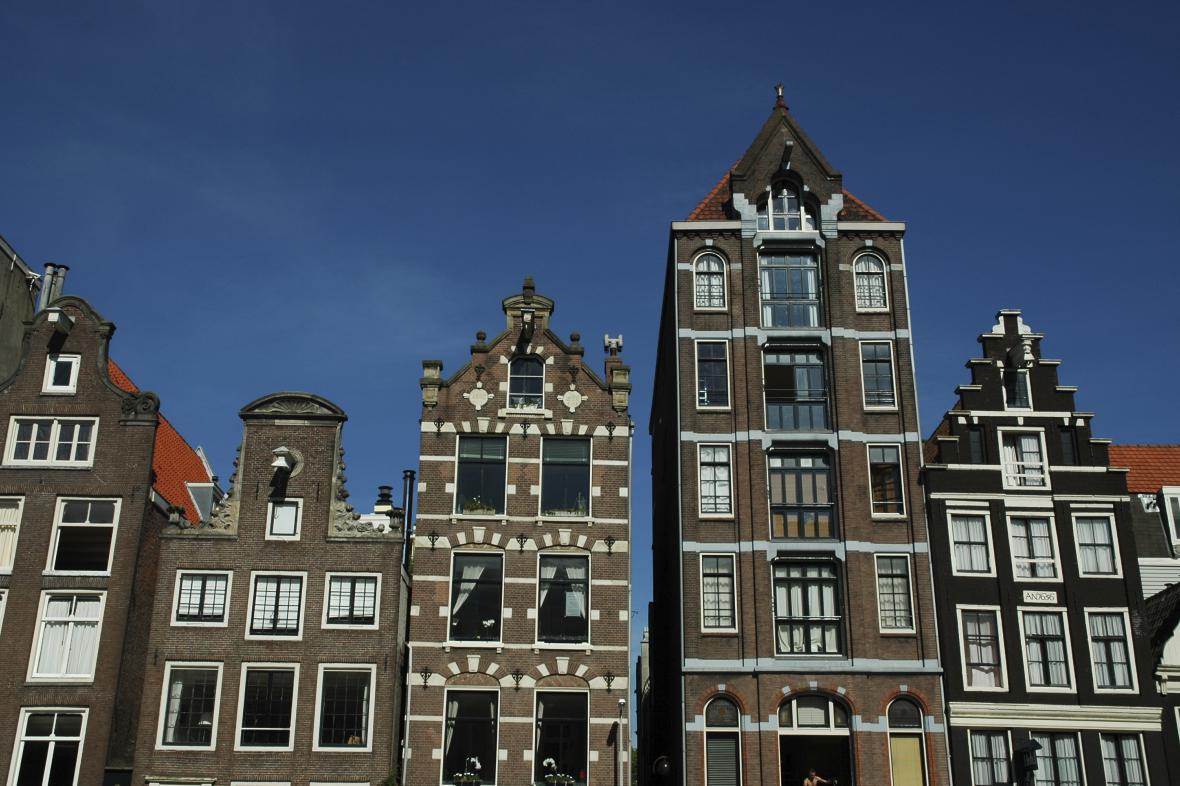 Domy v Amsterodamu