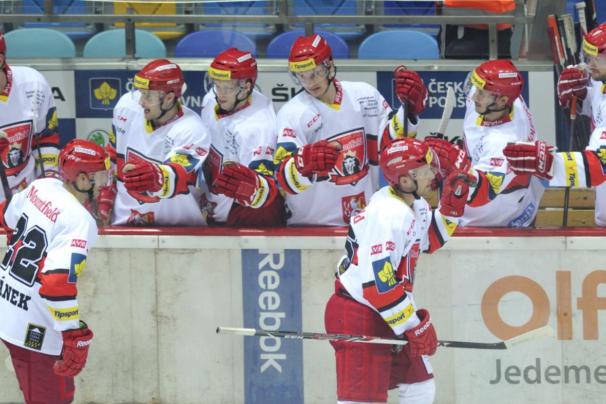 Radost hradeckých hokejistů
