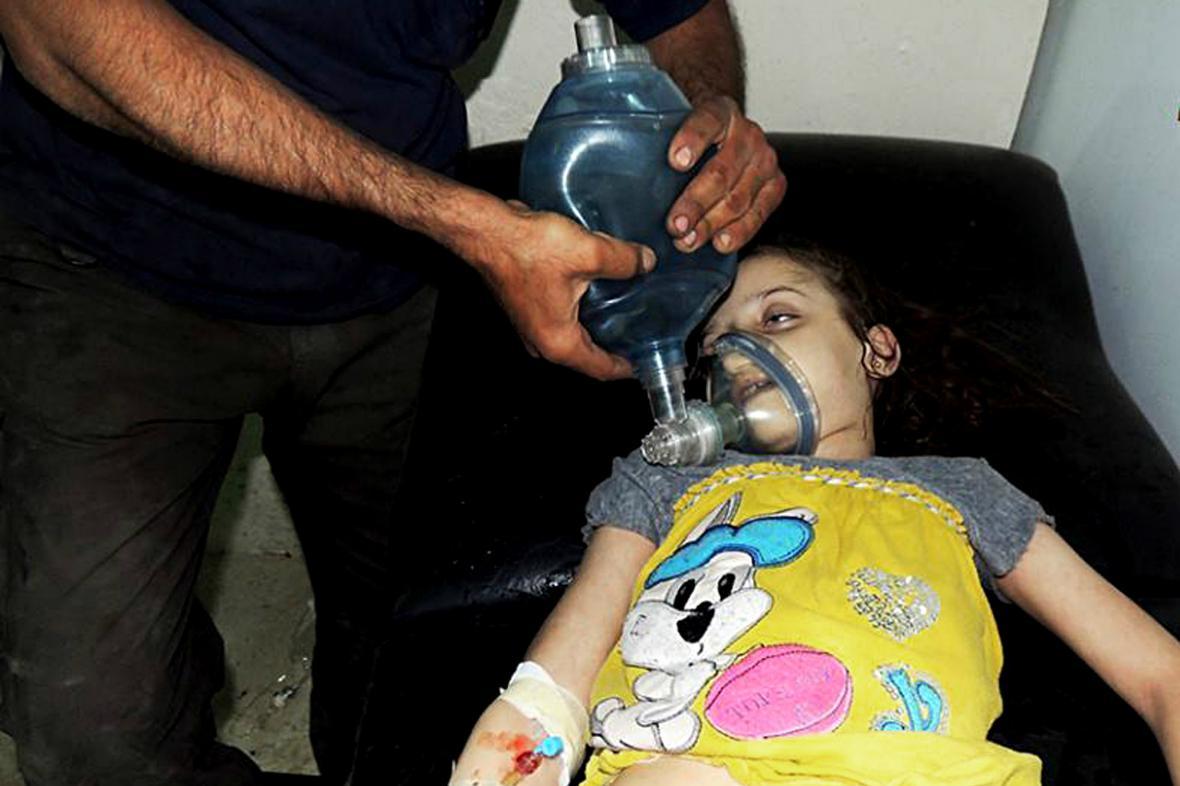 Podle opozice použila Asadova armáda chemické zbraně