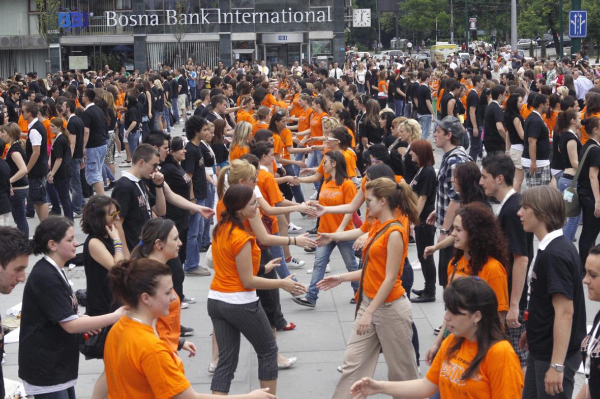 Bosenští studenti