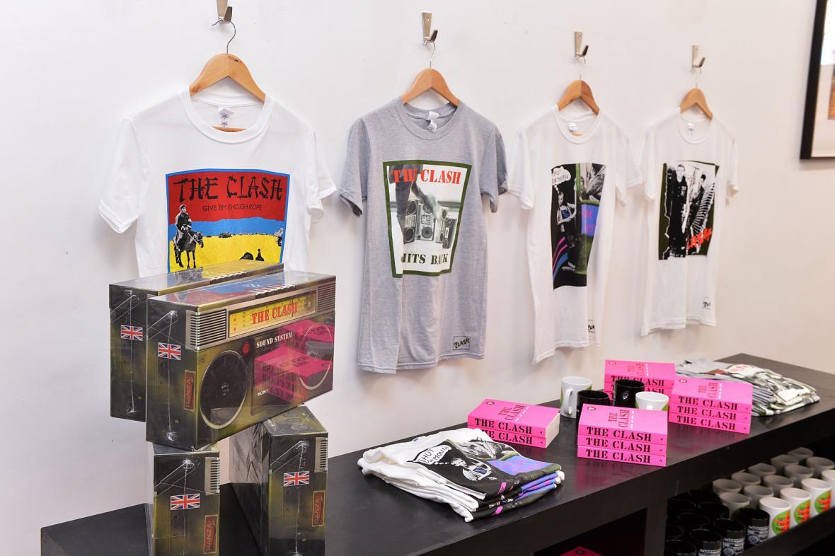 Obchod s věcmi Clash v Londýně