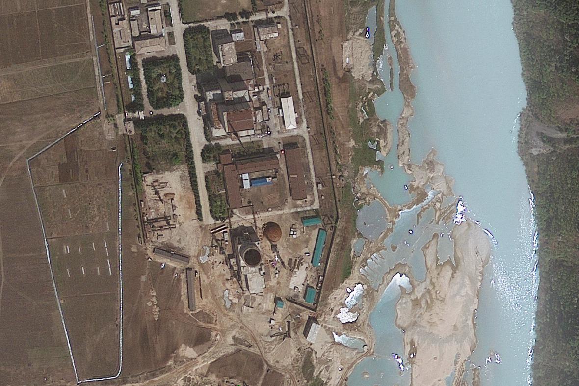 Severokorejský jaderný komplex v Jongbjonu