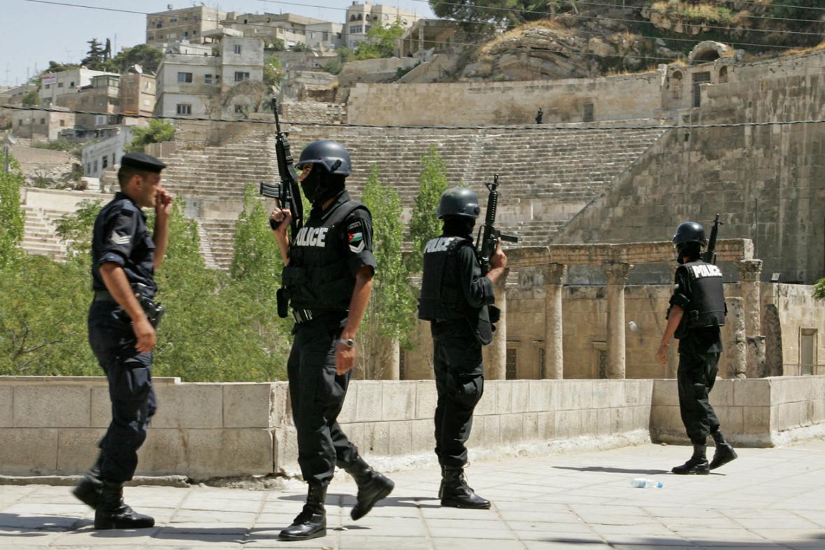 Jordánská policie
