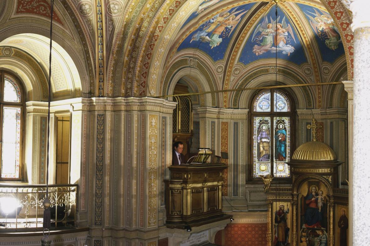 Zámecká kaple v Lužanech