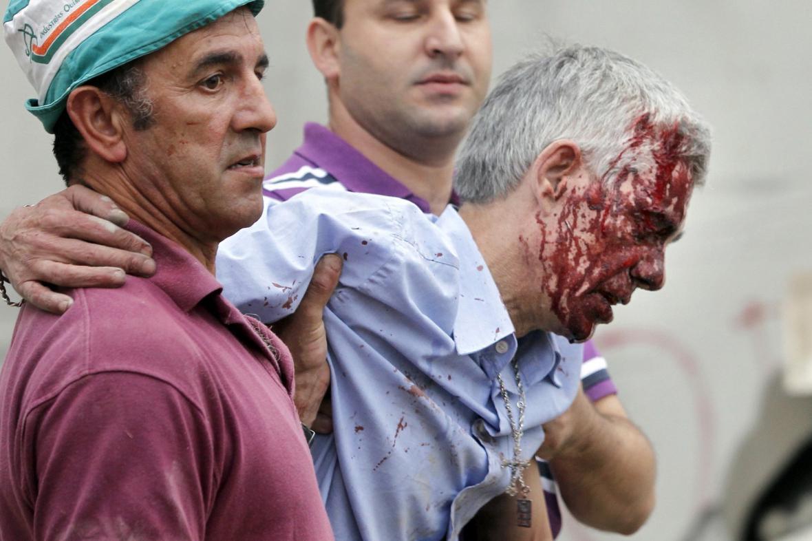 Strojvedoucí vykolejeného vlaku Francisco Garzon Amo