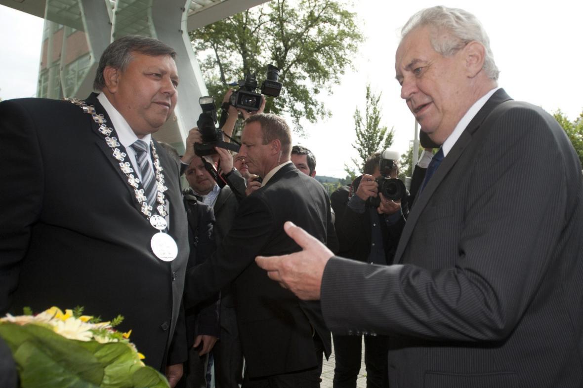 Prezidentská návštěva