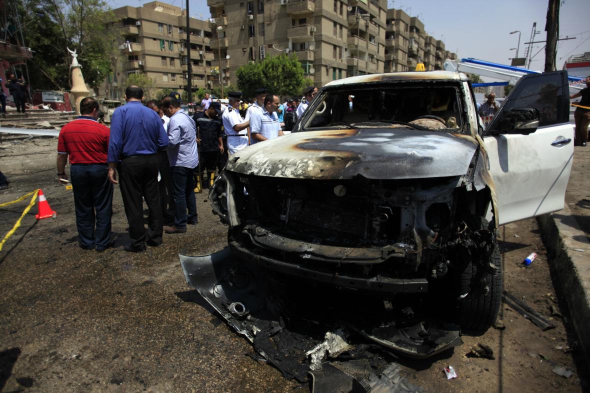 Útok na egyptského ministra vnitra Ibrahíma