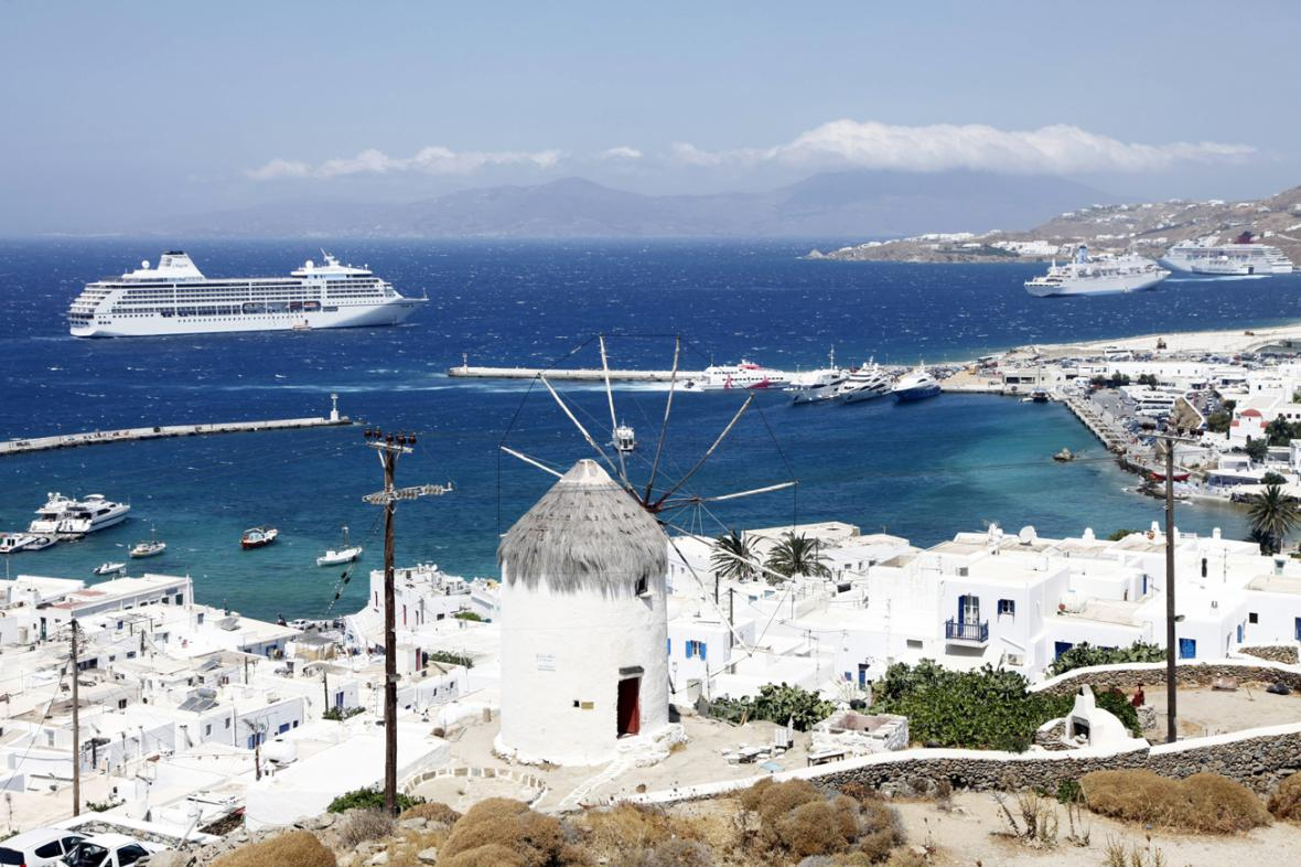 Řecký ostrov Mykonos