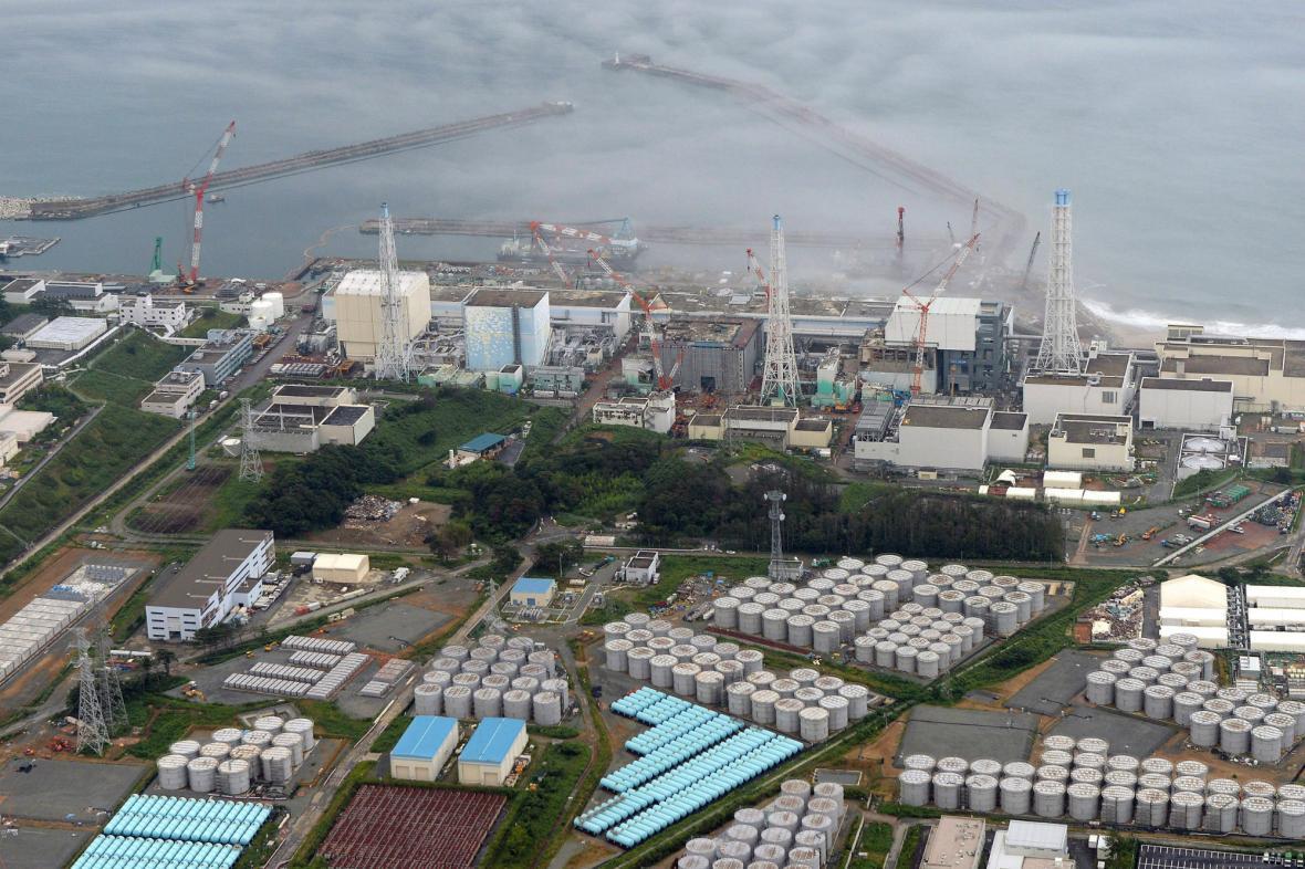 Poškozená elektrárna Fukušima