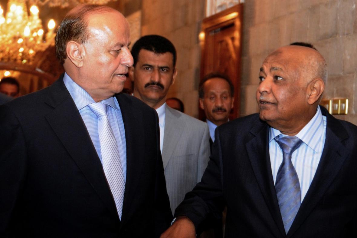 Muhammad Sálih Basindvá (vpravo)