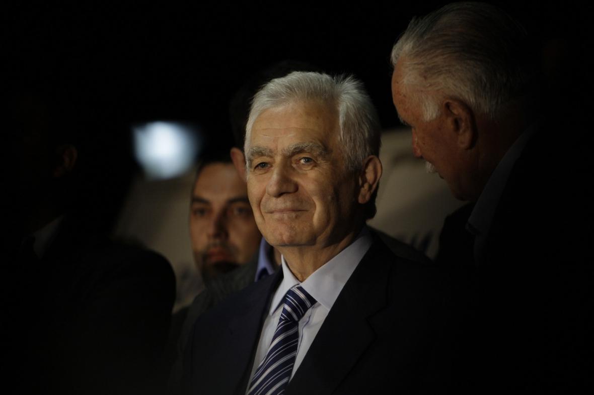 Bývalý šéf parlamentu bosenské Republiky srbské Momčilo Krajišnik