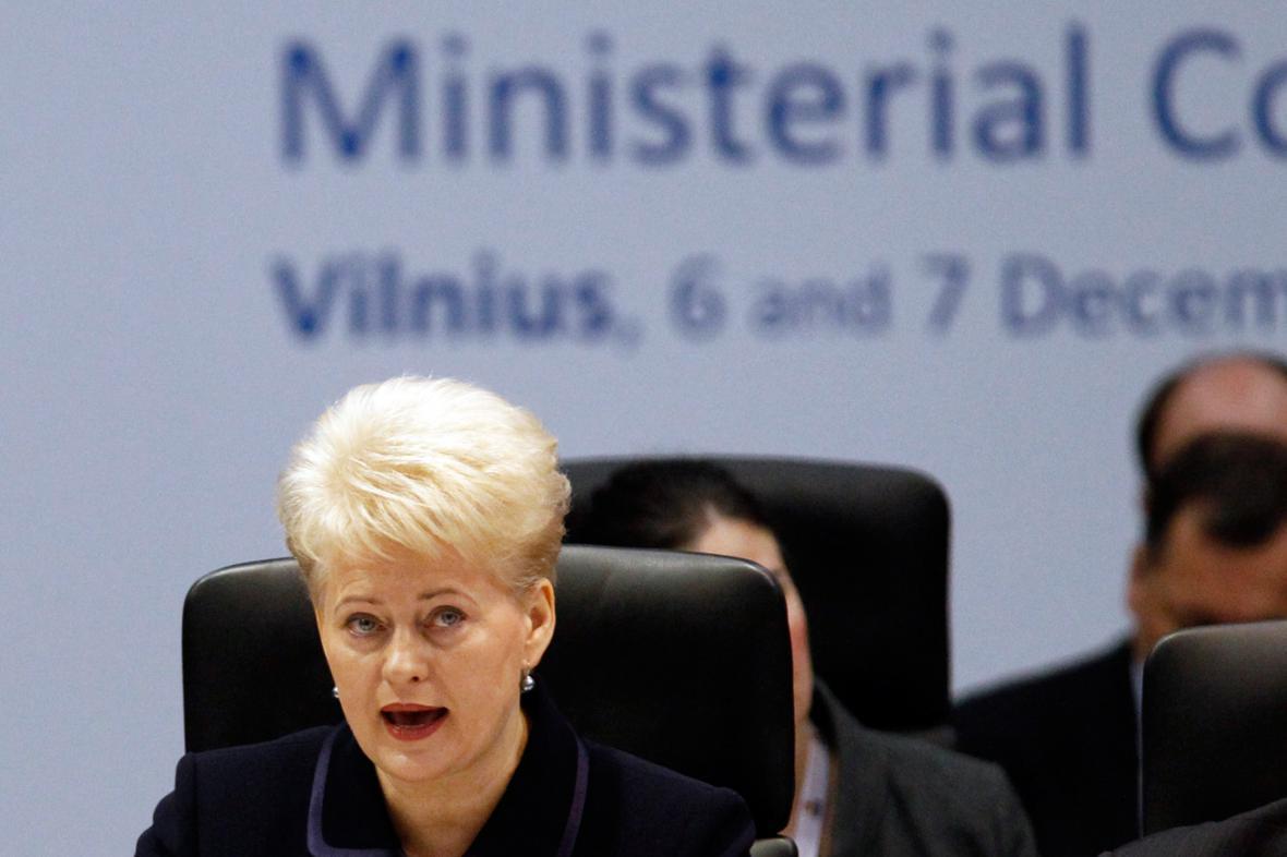 Dalia Grybauskaitéová