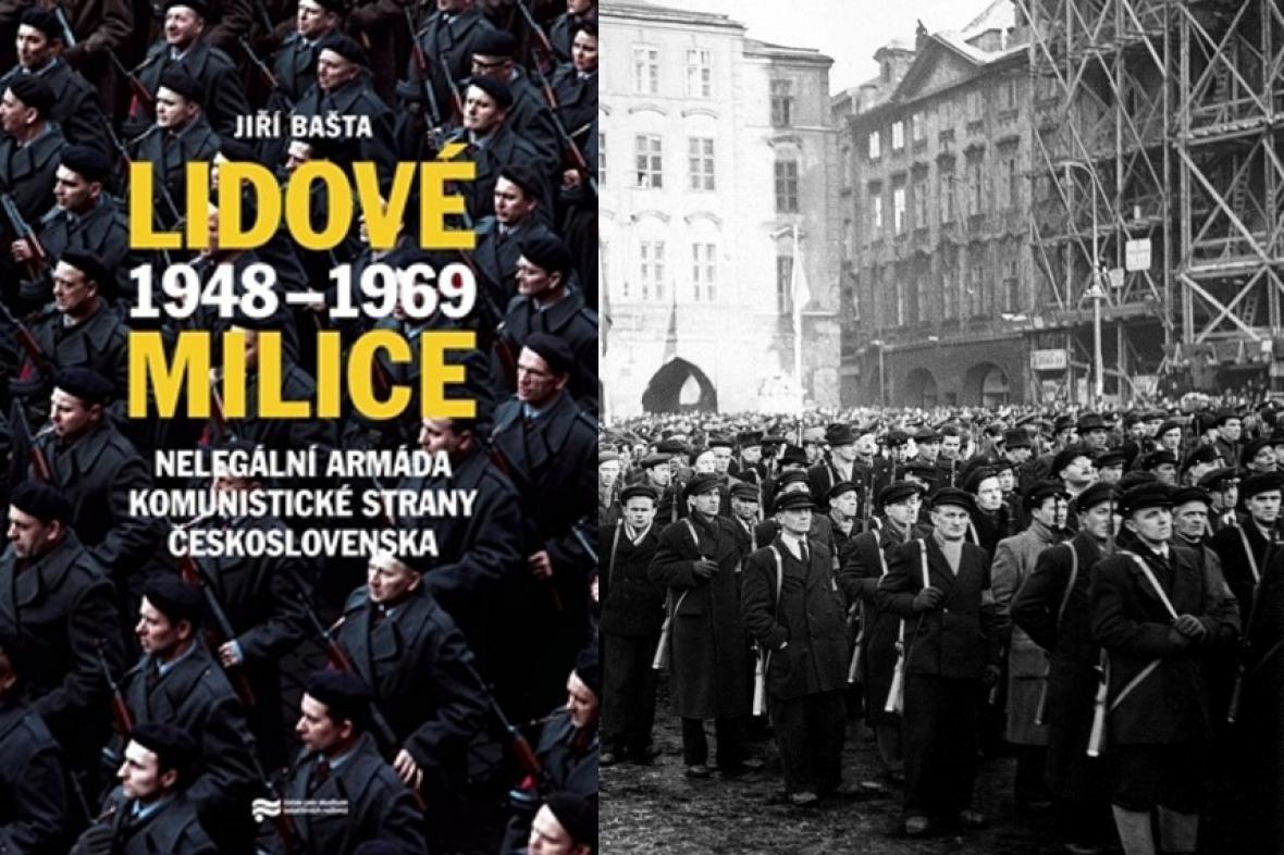 Monografie a milice na Staroměstském náměstí v únoru 1948