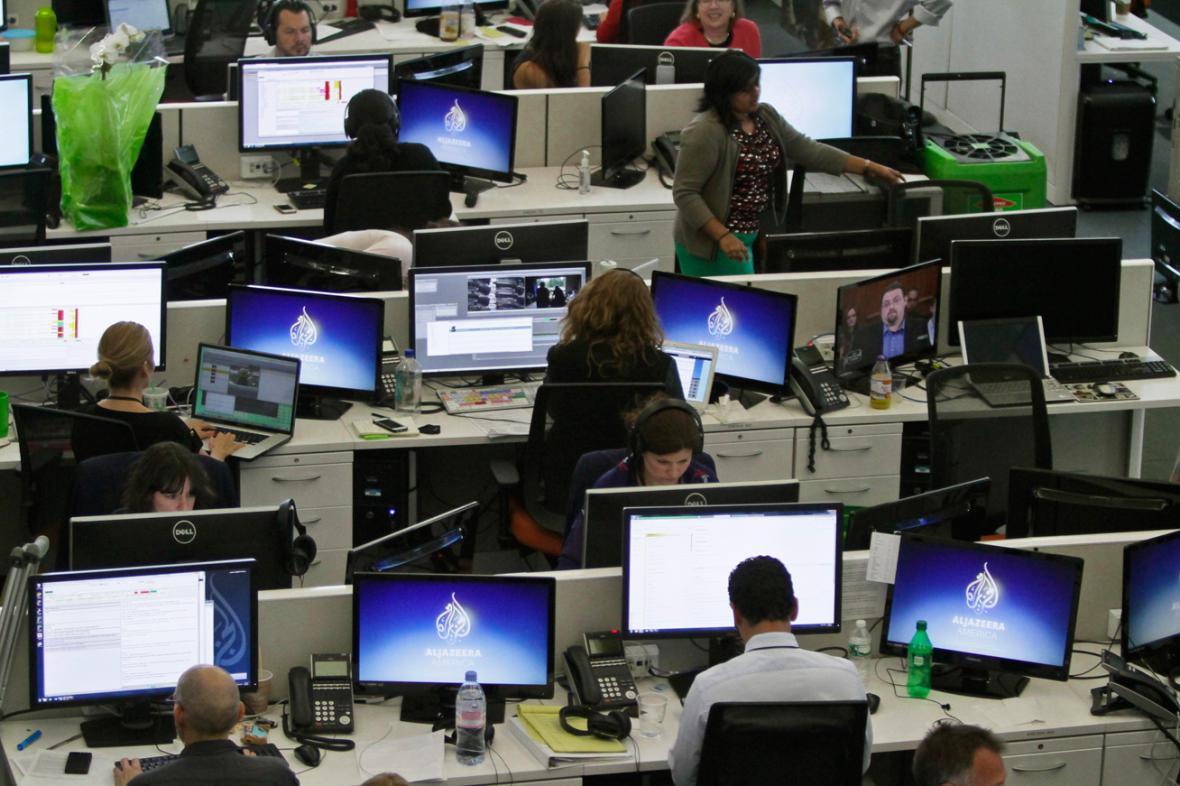 Newsroom televize Al-Jazeera America