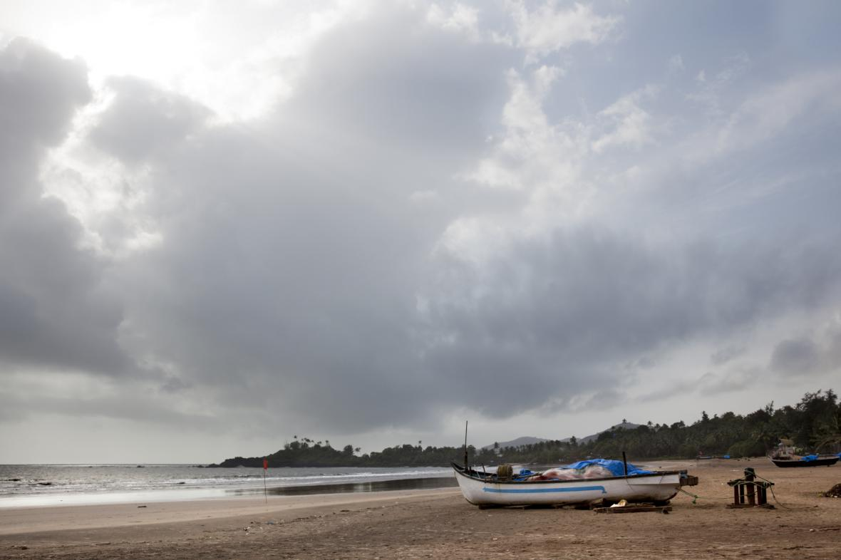 Pláž v Indii - ilustrační foto