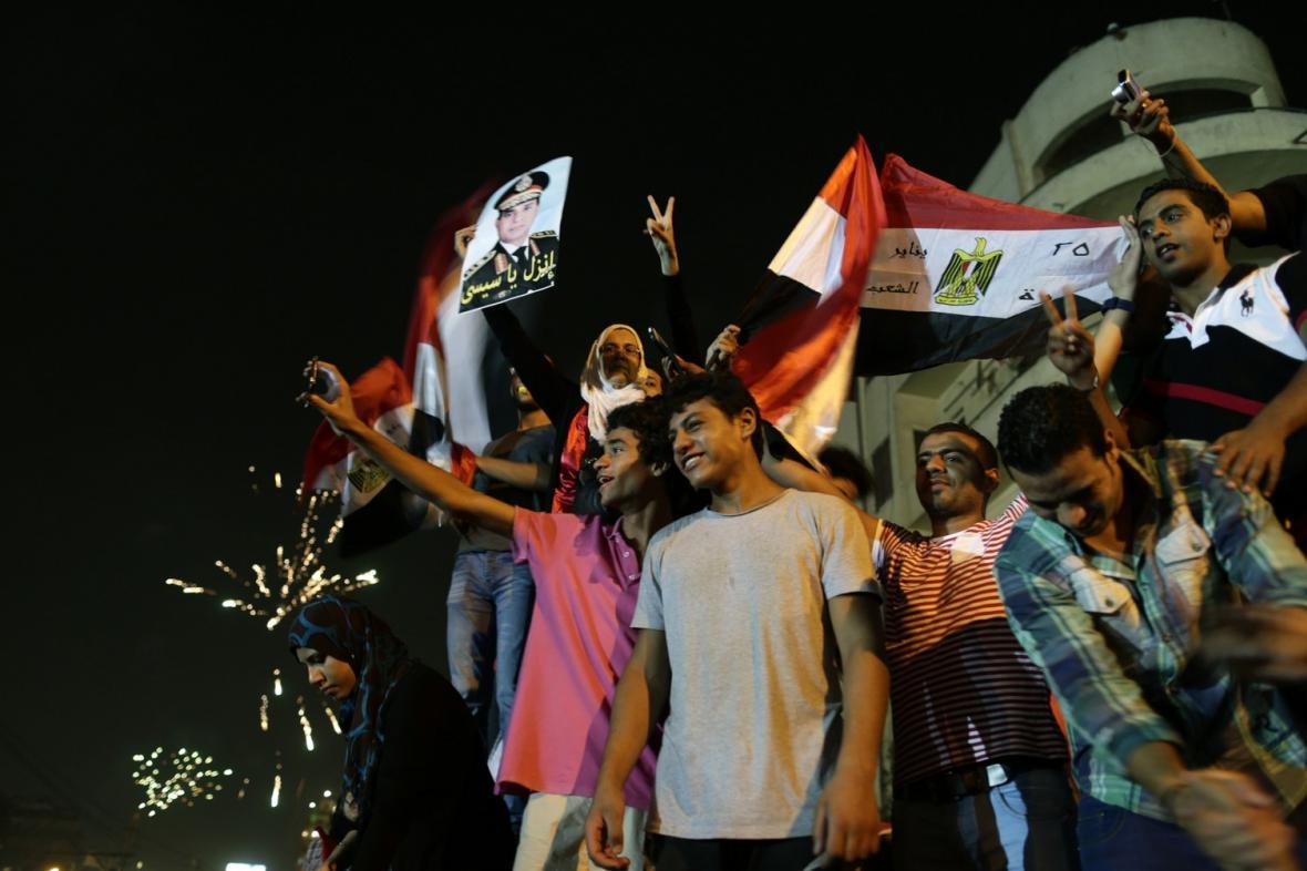 Odpůrci sesazeného prezidenta Mursího