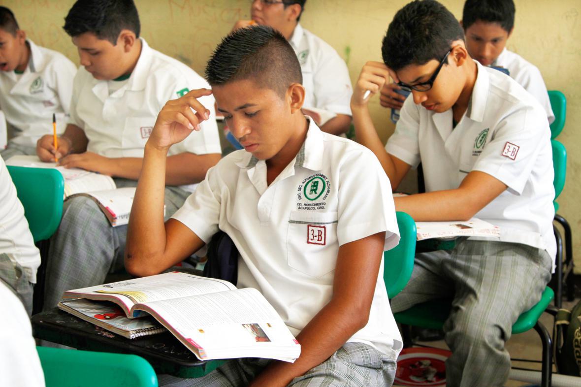 Mexičtí školáci