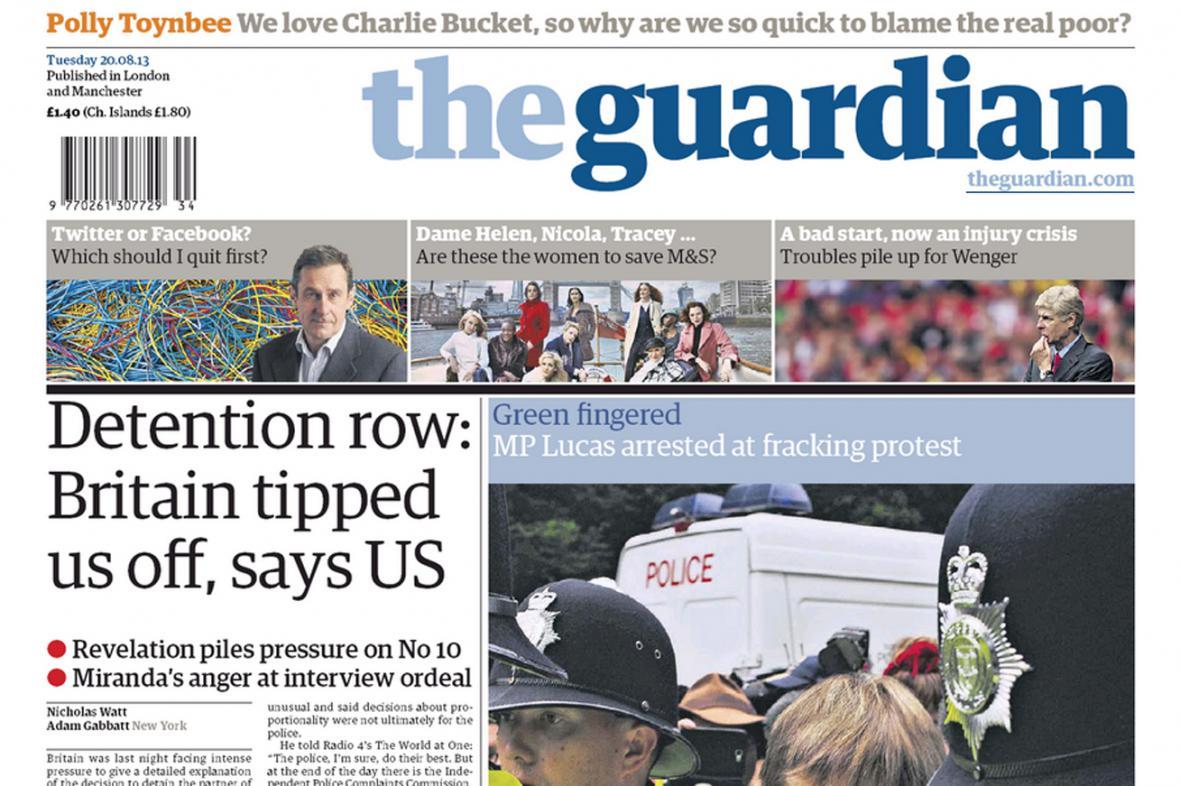 The Guardian z 20. srpna